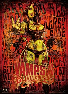 【初回限定盤(BD)】VAMPS LIVE 2015 BLOODSUCKERS