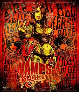 【通常盤(BD)】VAMPS LIVE 2015 BLOODSUCKERS