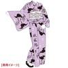 金子國義×HYDE コラボゆかた 蝙蝠 + オリジナル帯セット 女性用