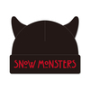 SNOW MONSTERS KNIT CAP