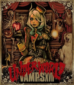 【通常盤(BD)】VAMPS LIVE 2017 UNDERWORLD
