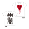 【SUMMER FEST XVIII】THROW-UP T-SHIRT[White]