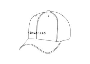 ASH DA HERO キャップ -2020- 【White】