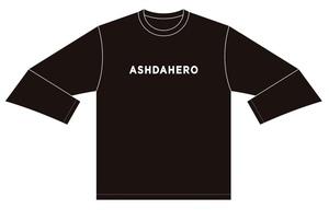 ASH DA HERO ロングTシャツ ー2020-【Black】