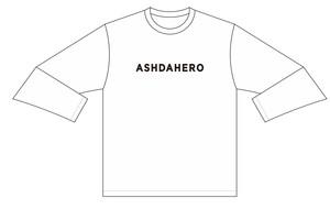 ASH DA HERO ロングTシャツ -2020- 【White】