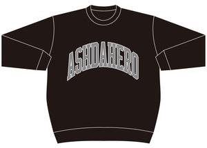 ADH College Sweat《BLACK》