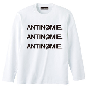 Anarchism Long T-shirt【ANTINOMIE.】(circle A限定商品)